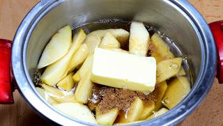 tarta de manzana y caramelo0