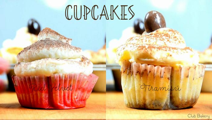 cupcakes con crema de queso